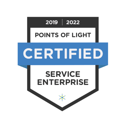 Service Enterprise certification seal